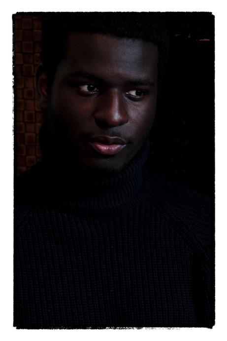 Black Satin Portrait