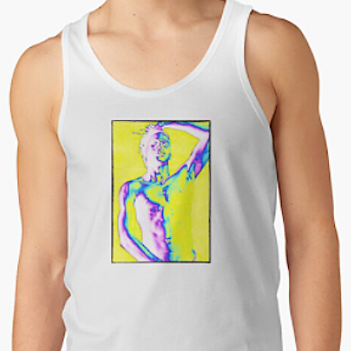 'Born To Exist' Art Graphic Tank Top