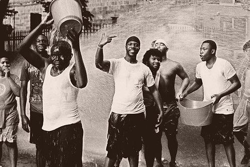 'Harlem Splash' Art Print