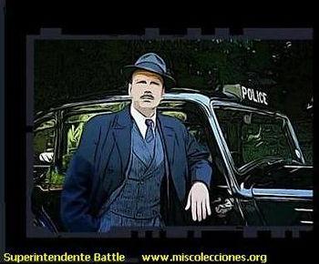 Superintendente Battle | Londres | | Un Mundo de Novela