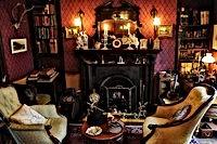 Sherlock Holmes en Baker Street