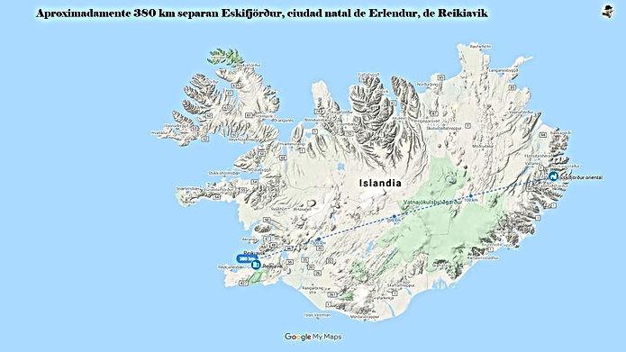 La Islandia de Erlendur Sveinsson