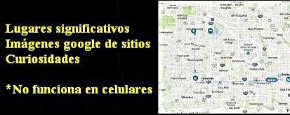 Google maps de las historias del Subcomisario Carl Mørck  | Departamento Q