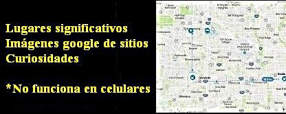 Google maps de las historias del implacable Timothy Cone