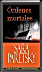 Ordenes mortales   Sara Paretsky   Un mundo de novela