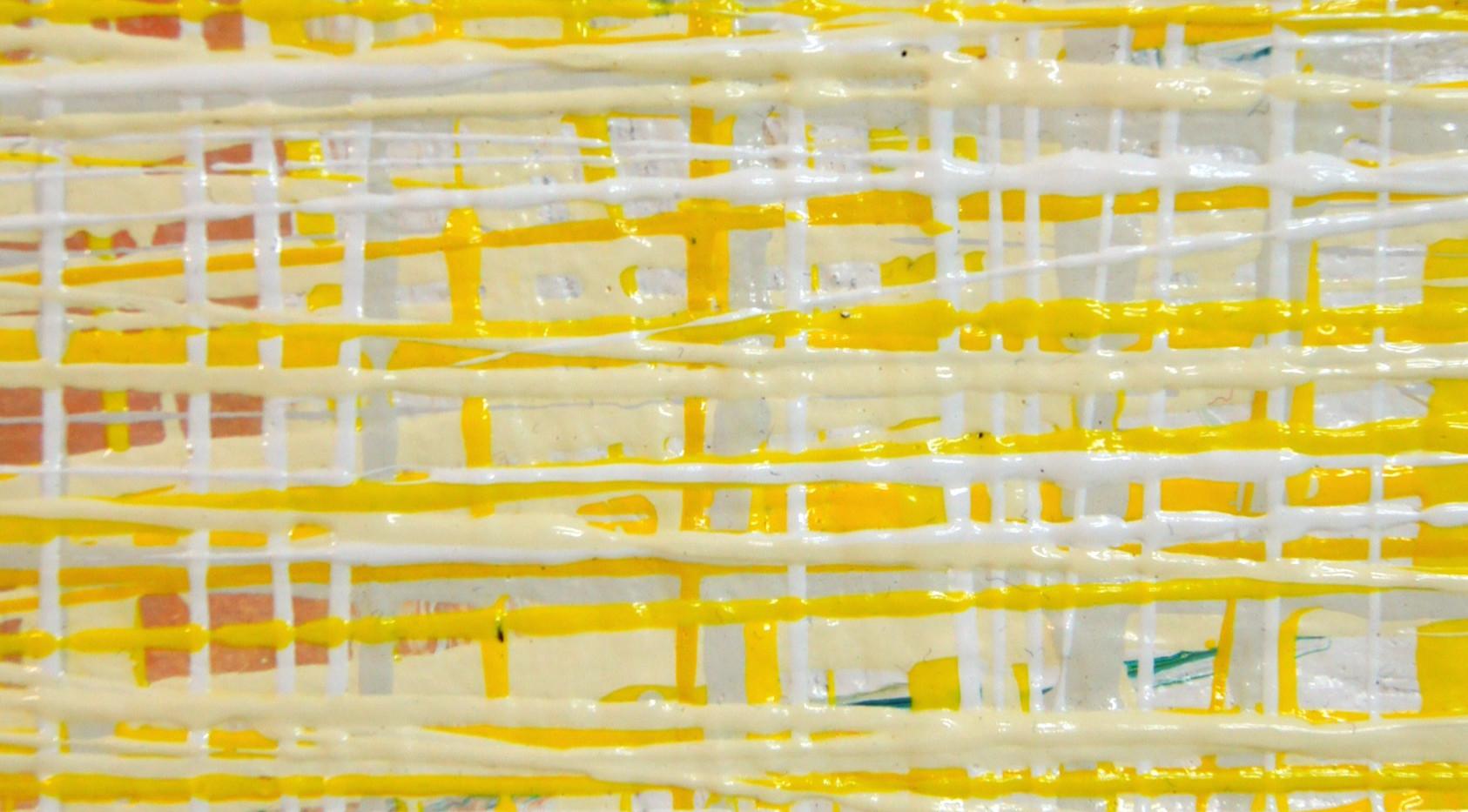 Yellow I | Ausschnitt | Acryl auf Hahnemühle Papier | 100x140cm gerahmt | Euro 1800,-