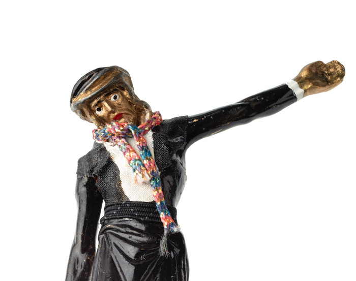 Skulptur, H. Draeger, Foto, F. Heinbach;