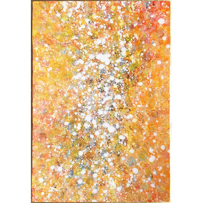 SummerSpace | 50 x 70 cm | Rahmen 24 Karat Gold | Euro 5500,-