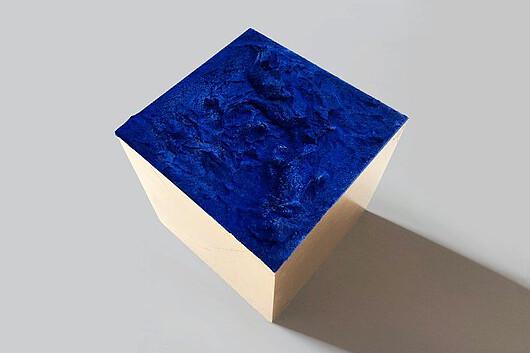 blue-box | 14x14x14 cm | Euro 690,-