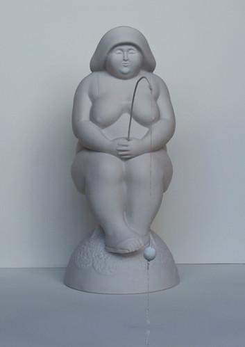 Fischerin-Sonja   Pollystone   41x19x19 cm   1/10   Euro 1900,-