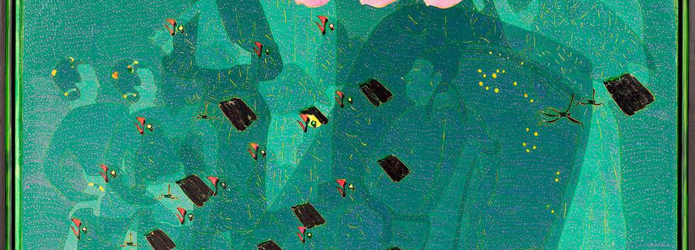 Wang Chongxue | Seethrough | Ölmalerei |  80x100 cm | Euro 4100,-