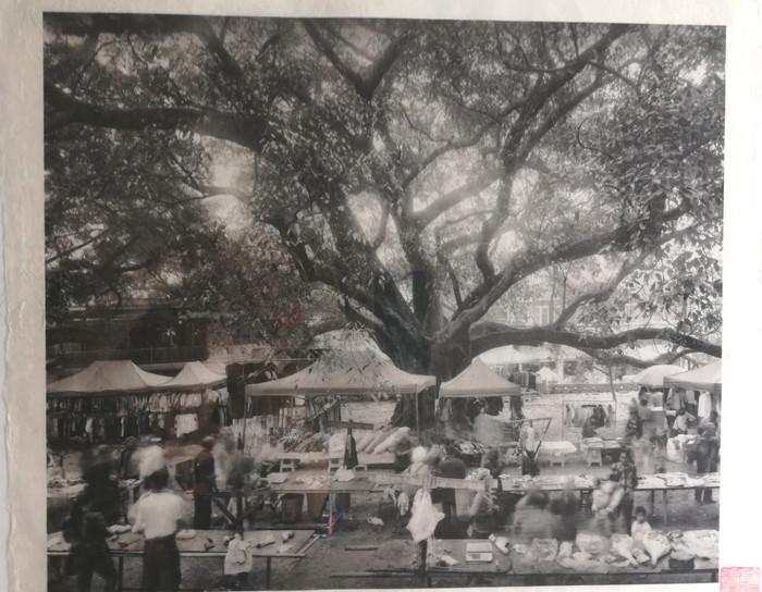 Fotografie auf handgeschöpftem Papier   Pumi Dorf