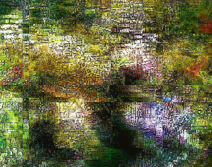Virtual-LandscapCollis-Anima | 100x100 cm | Edition 5 | Euro 2500,-