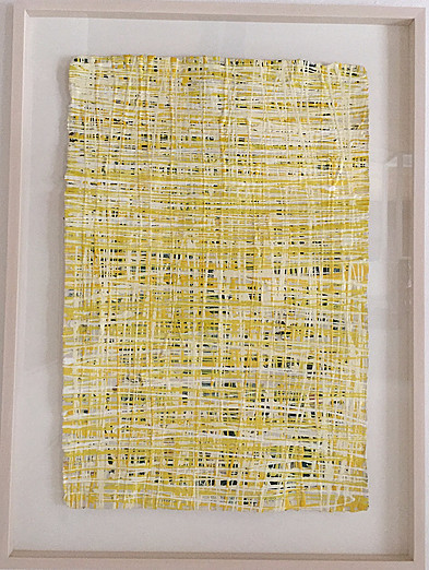 Yellow I | frei gerahmt | 120x160cm | Unikat | Euro 1800,-