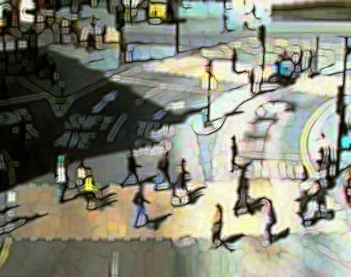 Public webcam | 04/28/15 | Piccadilly | 80x60 cm | Edition 5 | Euro 900, -