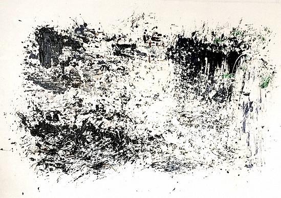 Besenbild schwarz | 140x110xm | Edition 1/1 | 2017 | Euro 1600,-