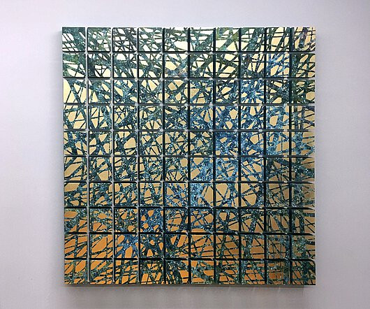 100 x together III - 149 x 149 cm | Schl