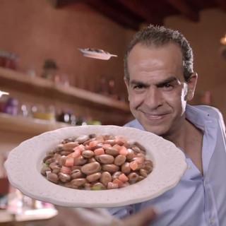 Harvest Fava Beans