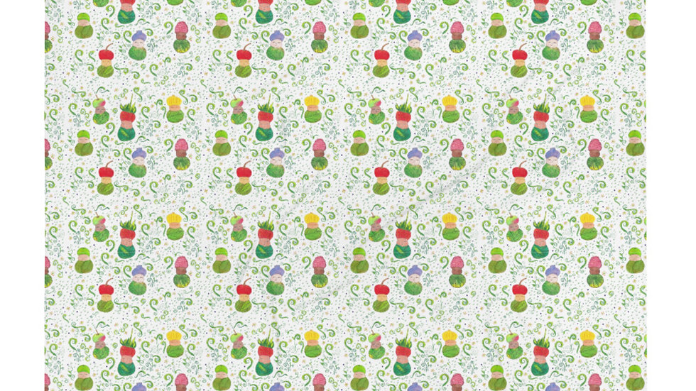 Fruit Baby Throw Blanket