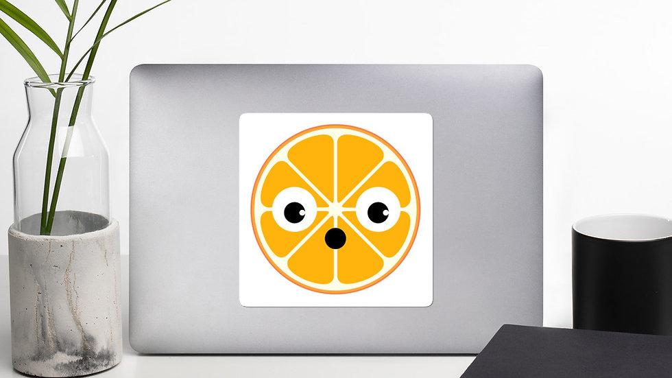 Orange oh my sticker
