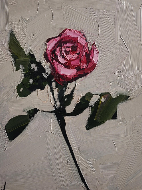Original Painting 'Pink Rose'