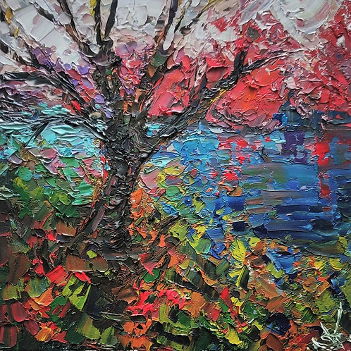 Original Painting 'Tropical River'