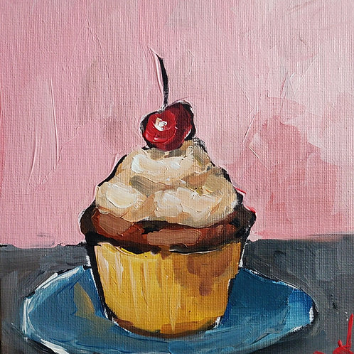 Original Painting 'Cherry On Top'
