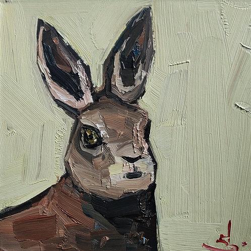 Original Painting 'Hare Portrait'