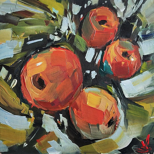 Original Painting 'Orange Peaches'