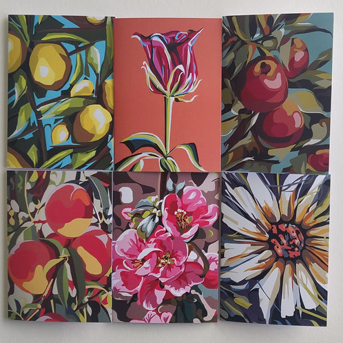 Floral & Fruit Greeting Cards