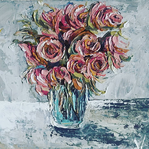 Original Painting 'Winter Bouquet'