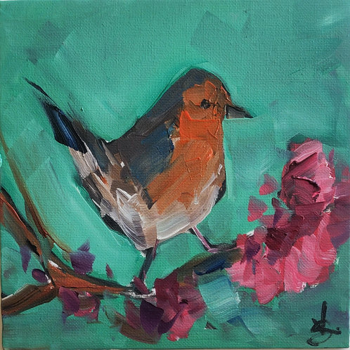 Original Painting 'Robin'