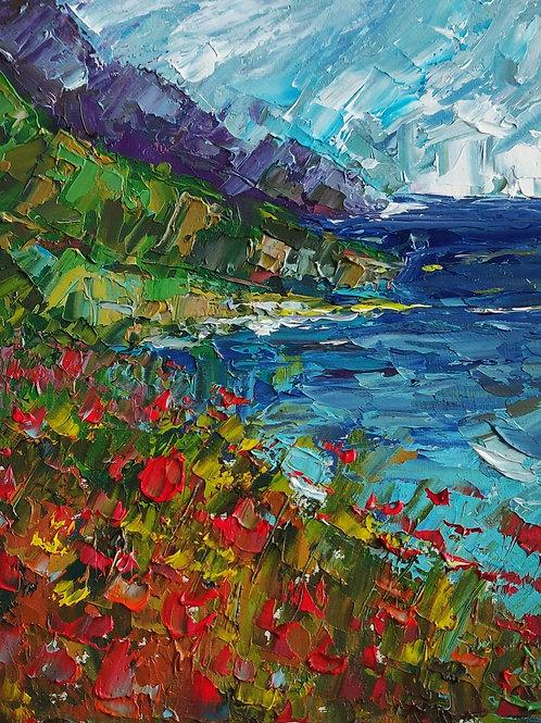 Original Painting 'Cliffside'
