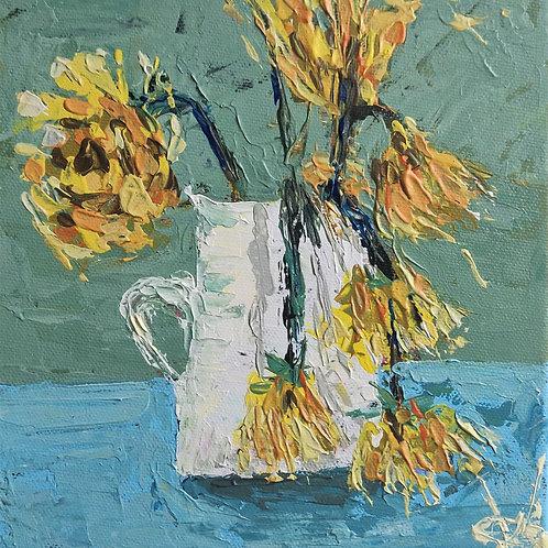 Original Painting 'Wilting Flowers'