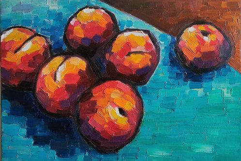 Original Painting 'Peach Territory'
