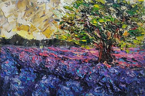 Original Painting 'Lavender Field'
