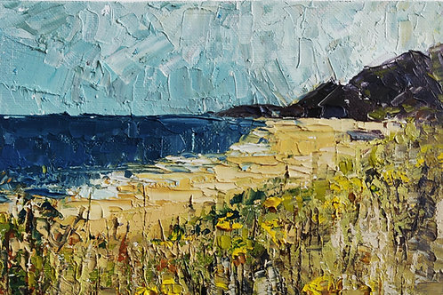 Original Painting 'Beach Flowers'