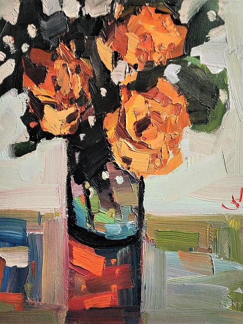 Original Painting 'Orange Bouquet'