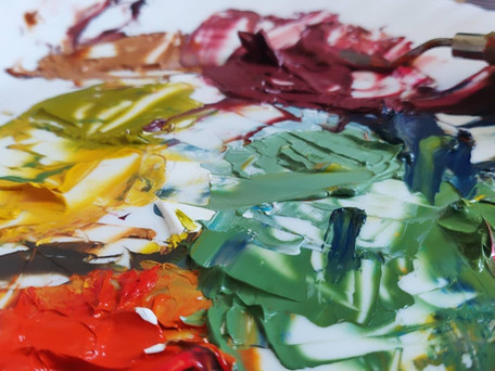Using Heavy Body Acrylics – The Wonderful Benefits