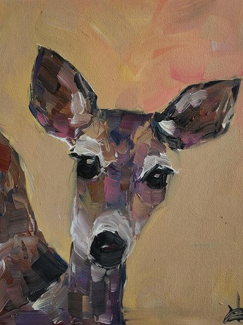 Original Painting 'Peek A Boo'