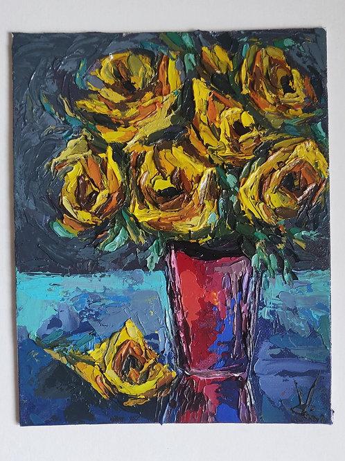 Original Painting 'Glass Table'