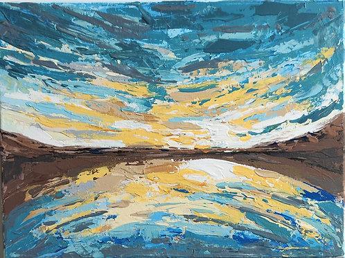 Original Painting 'Golden Beach'