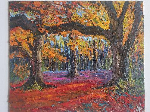 Original Painting 'Forest Escape'