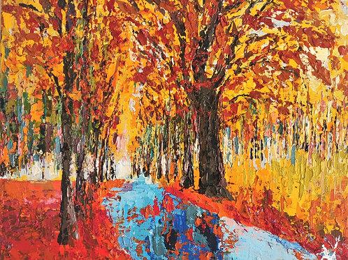Original Painting 'Autumn Light'