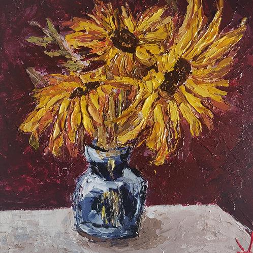 Original Painting 'Glorious Sunflowers'