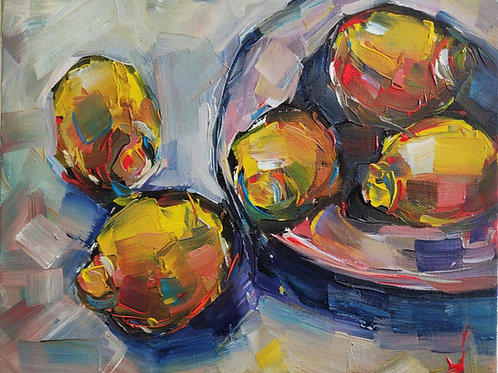 Original Painting 'A Squeeze Of Lemon'