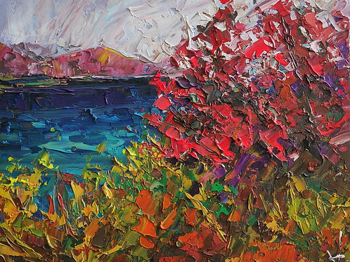 Original Painting 'Blue Sea'