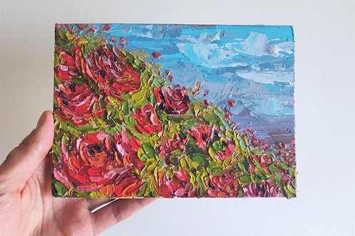 Original Painting 'Rose Hill'