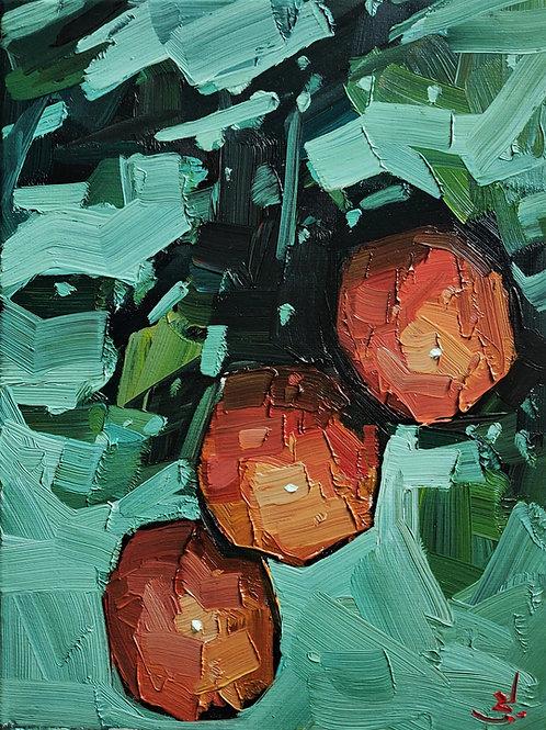 Original Painting 'Orange Tree'