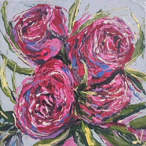 Original Painting 'Pink Peonies'